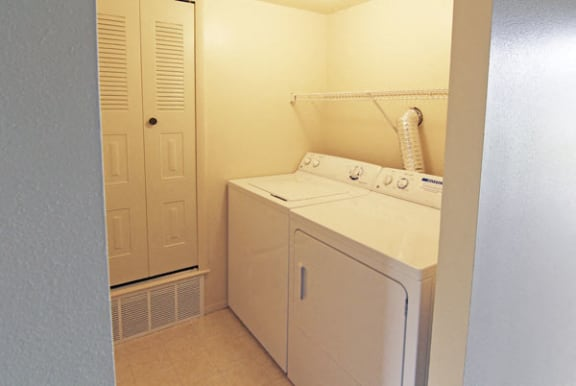 Full -size Washer/Dryer at North Pointe Apartments in Elkhart, IN