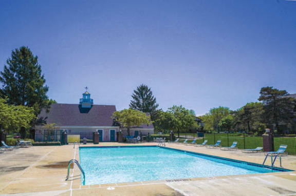 Pool Access with Sundeck and Wi-Fi at Newport Village Apartments in Portage, MI 49002