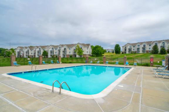 Swimming Pool with Wi-Fi at West Hampton Park Apartment Homes, Nebraska 68022