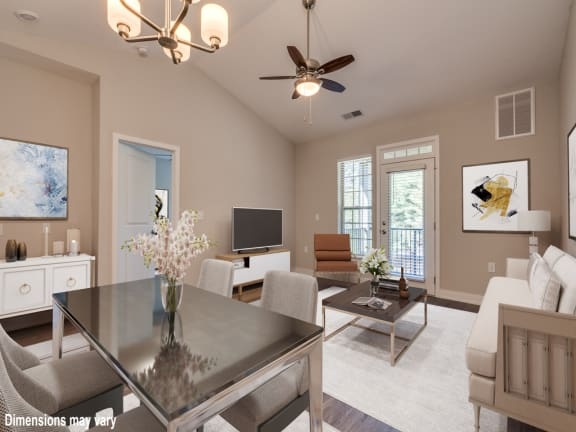 Premier Dining and Living Room