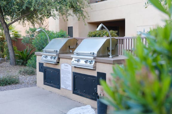 Tucson AZ Apartments for Rent with Two Outdoor BBQs to Cook
