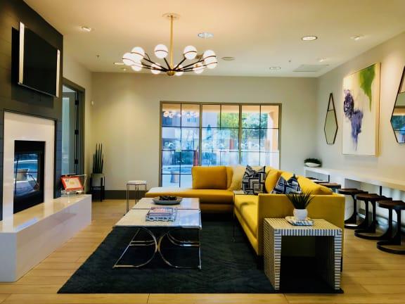 Upscale Clubhouse at Luxury Apartments Near University Of Arizona