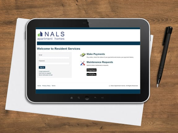 Online Payments and Service Requests Available