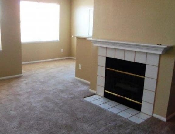 Fireplace at Manzanita Gate Apartment Homes, 2475 Robb Drive