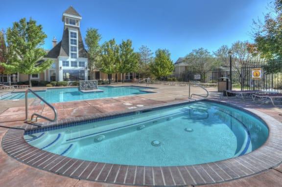 HotTub-Pool at Manzanita Gate Apartment Homes, Nevada, 89523