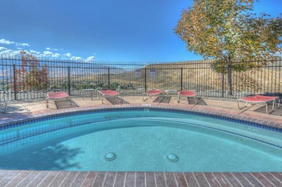 Pool Side at Manzanita Gate Apartment Homes, NV 89523