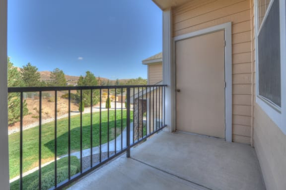 Balconies/Patio at Manzanita Gate Apartment Homes, Nevada, 89523