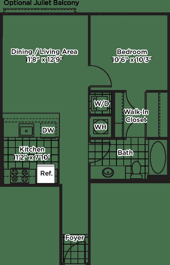 Floor Plan  A08