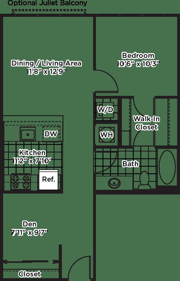 Floor Plan  AD03 Den