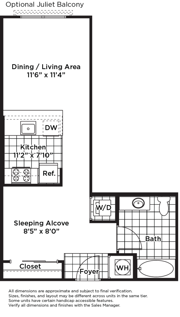 Floor Plan  s02am (Income Restricted)