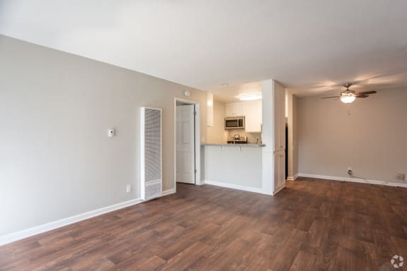 Wood Inspired Plank Flooring at Charter Oaks Apartments, California, 91360