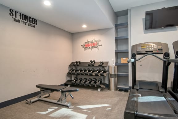 The Fitness Center at Wilbur Oaks Apartments, Thousand Oaks