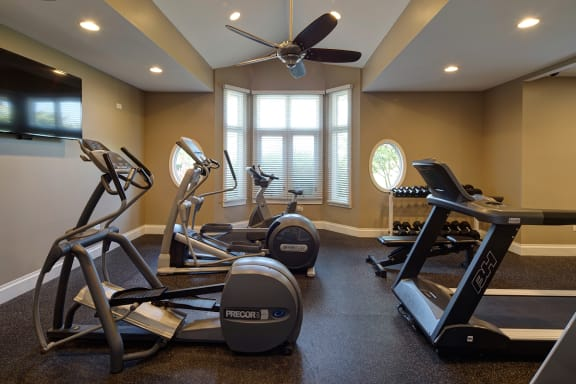 24 Hour Fitness Center at Farmington Lakes Apartments Homes, Oswego, IL, 60543
