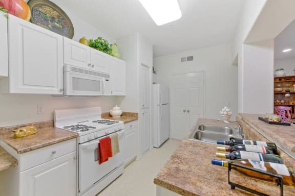 Fully Equipped Kitchen at Casoleil, San Diego, 92154