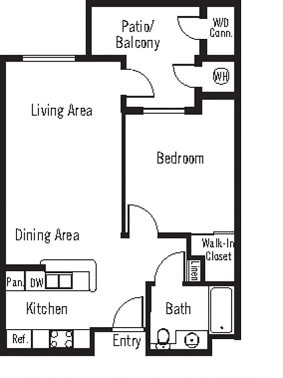Floor Plan  Merlot Floor Plan at 55+ FountainGlen Terra Vista, Rancho Cucamonga, CA, 91730
