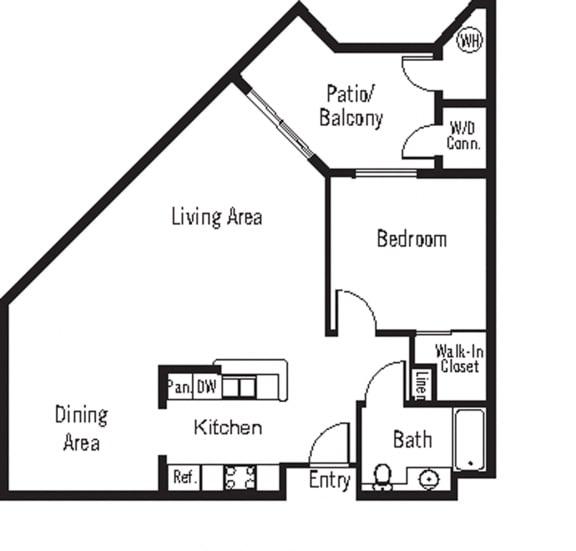 Chardonnay Floor Plan at 55+ FountainGlen Terra Vista, Rancho Cucamonga, 91730