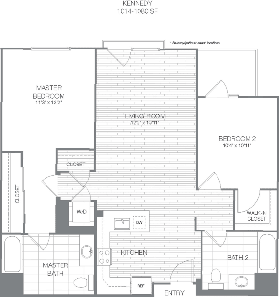 Floor Plan  Kennedy