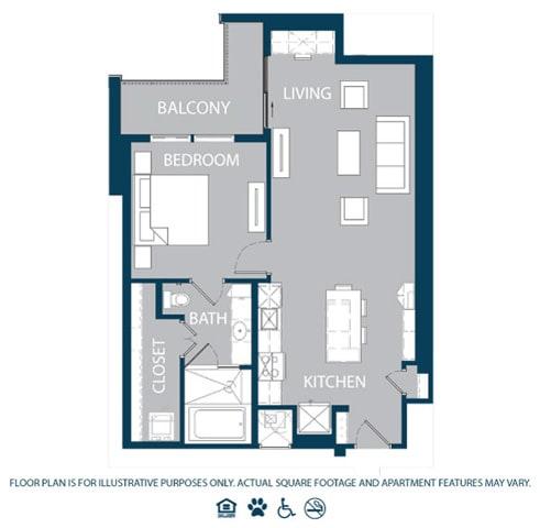 Floor Plan  Floorplan at The Jordan, 2355 Thomas Ave, Dallas, opens a dialog