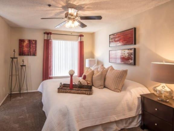 Spacious Bedrooms at Garden Grove Apartments, Tempe, AZ, 85283