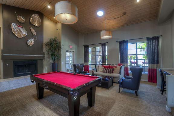 Billiards Table at Garden Grove Apartment Homes, Tempe, AZ