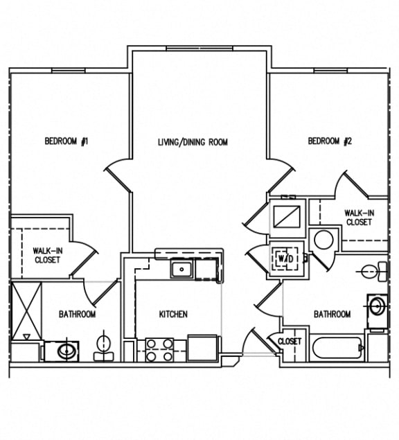 Floor Plan  Victory Court Floor Plan 2K1-HC