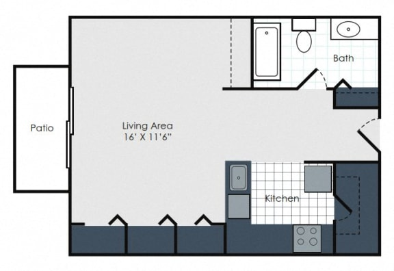 Floor Plan  Athens- Amber Place
