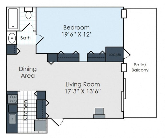 Floor Plan  Scandinavian 1 XL- Standard