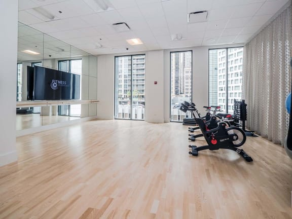 State-of-the-Art Fitness Center at State & Chestnut Apartments, Illinois, 60610
