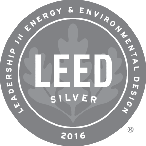 Leed Silver 2016 at State & Chestnut Apartments, 845 N State St, Chicago