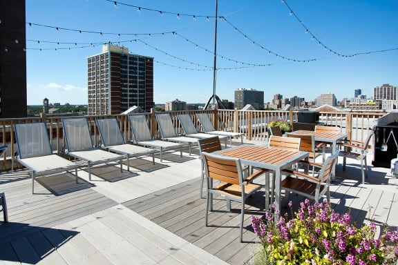 Classic Sun Deck at Reside on Clarendon, Chicago, IL,60613
