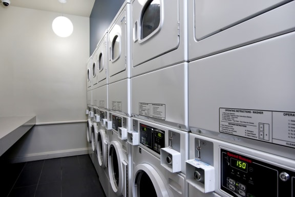 On Site Laundry Center at Reside at Belmont Harbor, Chicago, IL,60657