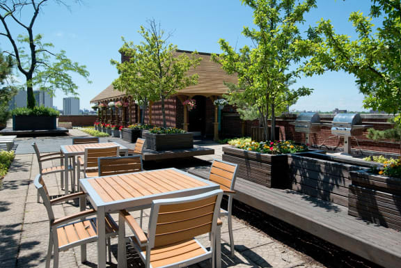 Sun Deck at Reside on Wellington, Chicago, IL,60657
