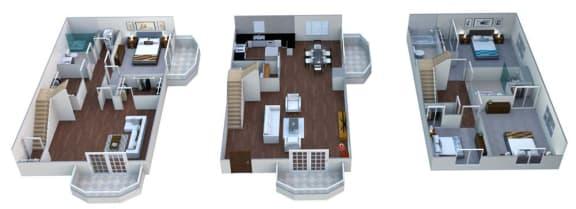 Floor plan at Linea Cambridge, Cambridge, 02140