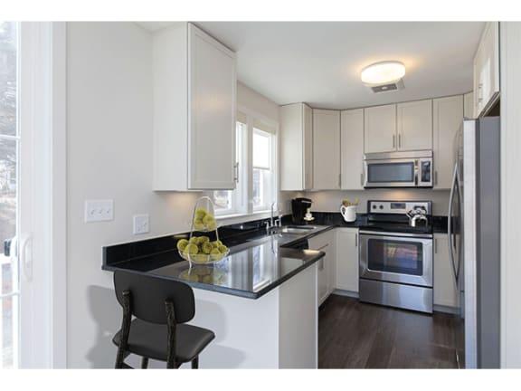 Modern Kitchen  at Linea Cambridge in Cambridge, MA, 02140