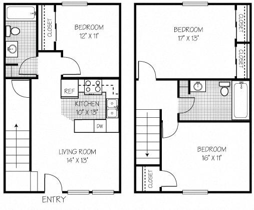 3 Bedroom 2 Bathroom Apt in Shippensburg