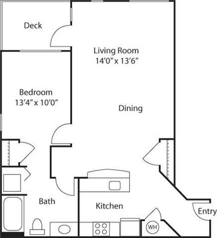 B2- 55+ Adult Living Floorplan at Reunion at Redmond Ridge, WA , 98053