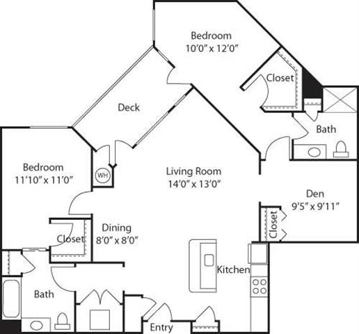 C3 with Den- 55+ Adult Living Floorplan at Reunion at Redmond Ridge, 11315 Trilogy Pkwy NE
