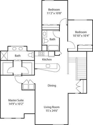 Floor Plan  G4- 55+ Adult Living Floorplan at Reunion at Redmond Ridge, Redmond, WA