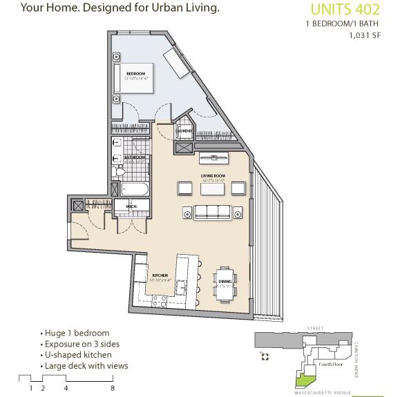 Floor Plan at 7 Cameron, Cambridge, MA