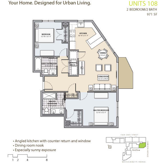 Floor Plan at 7 Cameron, Cambridge