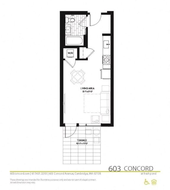 Floor Plan at 603 Concord