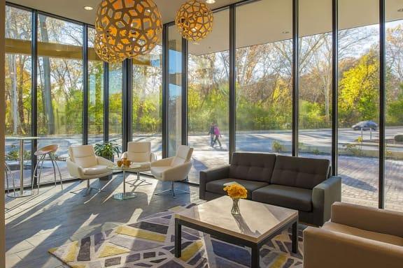 Apartment Lobby at 603 Concord, Cambridge, MA 02138