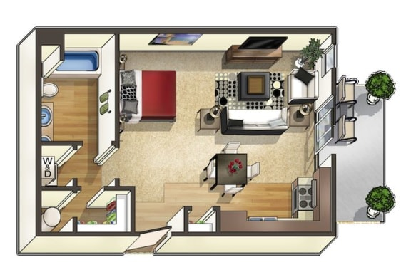 Floor Plan  Pudre Floor Plan at The Trails at Timberline, Fort Collins, CO