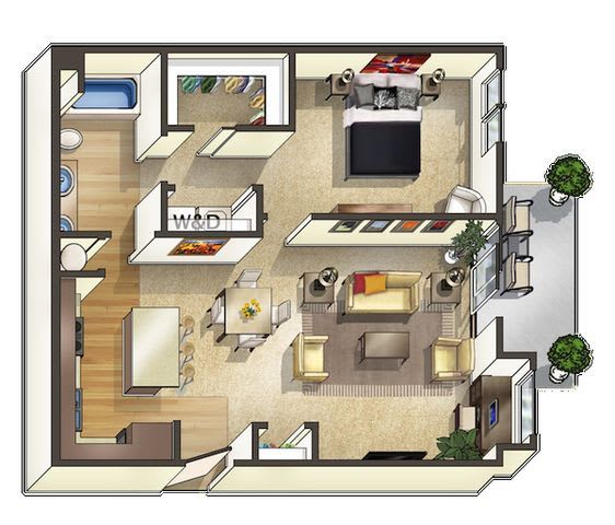Floor Plan  Redwood Floor Plan at The Trails at Timberline, Fort Collins,Colorado