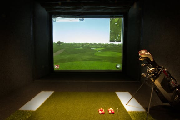 Golf Simulator at The Trails at Timberline, Colorado, 80525