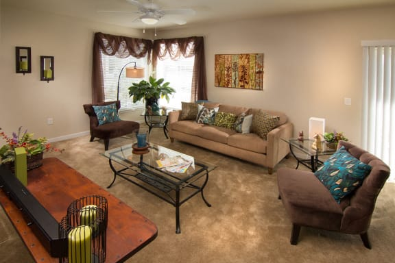 Gracefully Designed Living Room  at The Trails at Timberline, Colorado