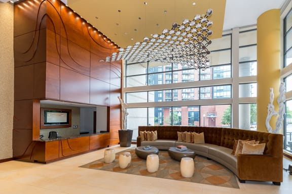 Business Center with Wi-Fi, at Wentworth House,North Bethesda, MD