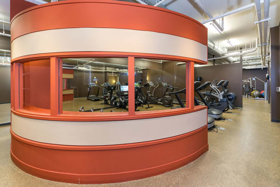 The Fitness Center Is Open 24/7, at Wentworth House,North Bethesda, Maryland