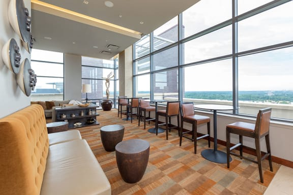 On-site Starbucks, at Wentworth House,North Bethesda, MD, 20852