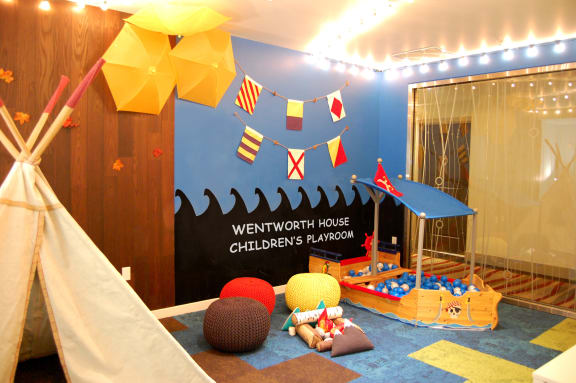 Children's Play Room, at Wentworth House,North Bethesda, MD